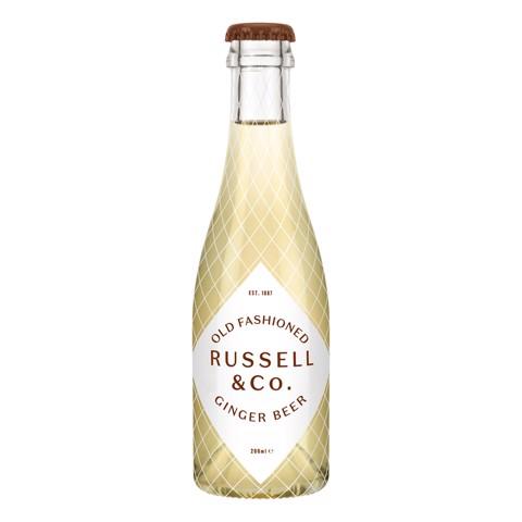 Russell & Co Ginger beer    doos 24x0,20L