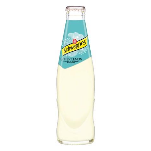Schweppes Bitter Lemon     krat 24x0,25L