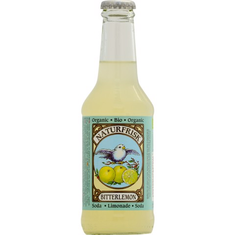 Naturfrisk Bitter Lemon  doos 12x0,25L