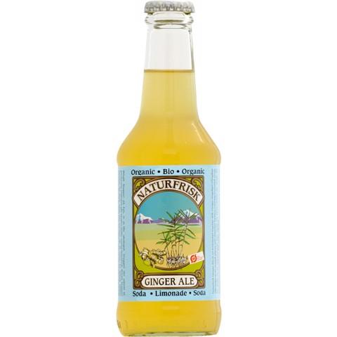 Naturfrisk Ginger Ale  doos 12x0,25L