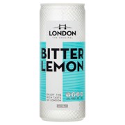 London Bitter Lemon   blik tray 12x0,25L