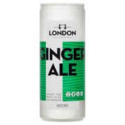 London Ginger Ale     blik tray 12x0,25L