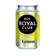 Royal Club Bitter Lemon blik tray 24x0,33L