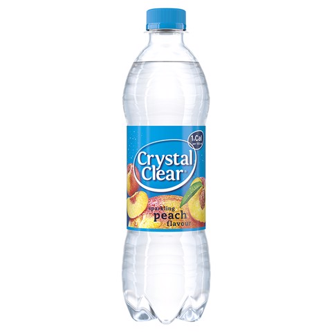 Crystal Clear Peach PET     tray 6x0,50L