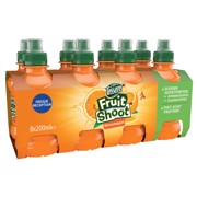 Teisseire Fruit Shoot Sinaasappel PET tray 3x8x0,20L