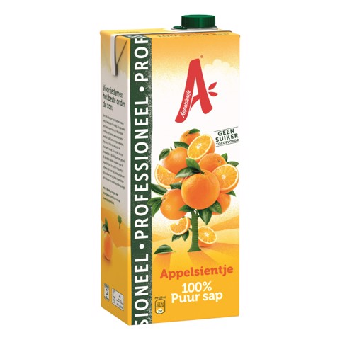Appelsientje Sinaasappel Prof. pak tray 8x1,50L