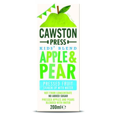 Cawston Press Kids Apple Pear pak tray 18x0,20L