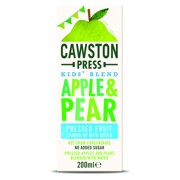Cawston Press Kids Apple Pear pak tray 18x0,20L
