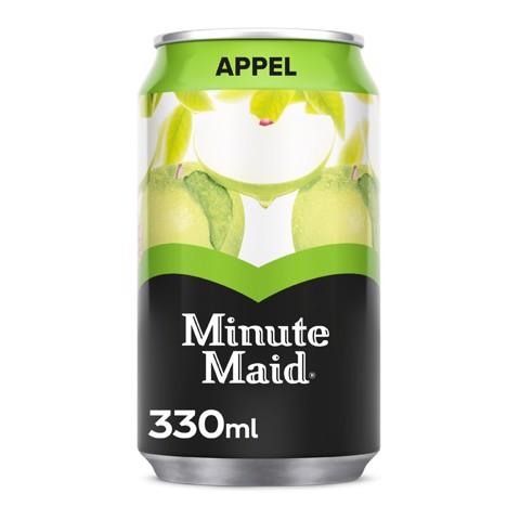 Minute Maid Appel blik     tray 24x0,33L