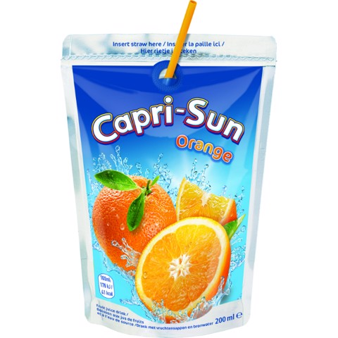 Capri-Sun Orange pouch doos 4x10x0,20L