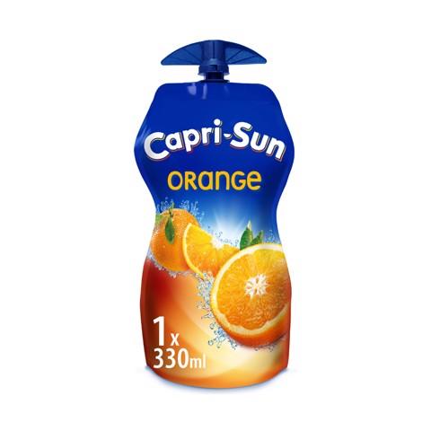 Capri-Sun Orange pouch tray 15x0,33L
