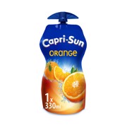 Capri-Sun Orange pouch tray 15x0,33L