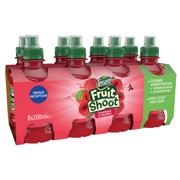 Teisseire Fruit Shoot Aardbei Framboos PET tray 3x8x0,20L