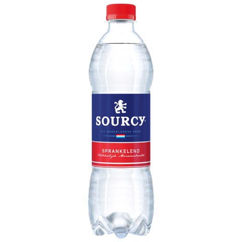 Sourcy Rood kzh PET             tray 6x0,50L