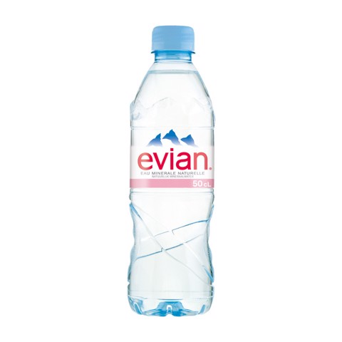 Evian kzv PET                  tray 24x0,50L