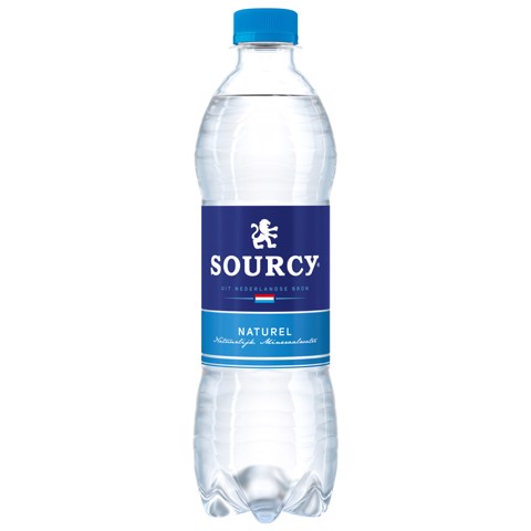 Sourcy Blauw kzv PET        tray 6x0,50L