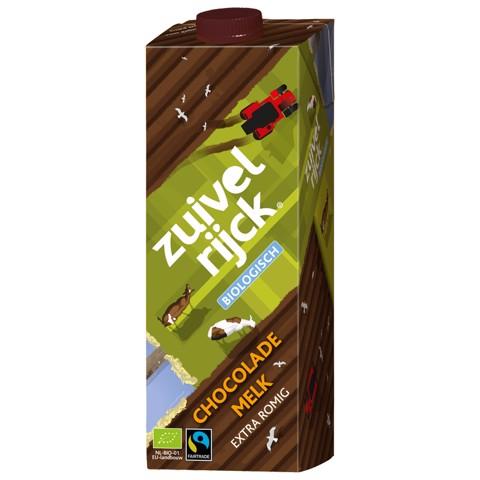 Zuivelrijck Chocolademelk pak tray 12x1,00L