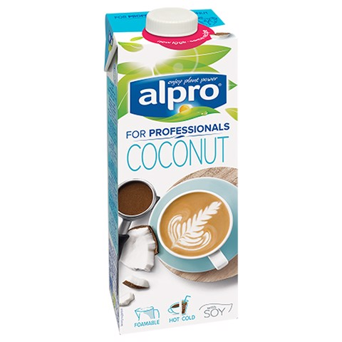 Alpro For Professionals Coconut pak tray 12x1,00L
