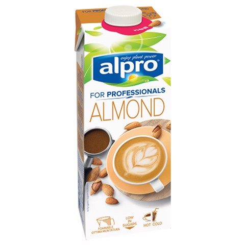 Alpro For Professionals Almond pak tray 8x1,00L