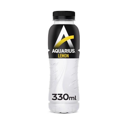 Aquarius Lemon PET tray 24x0,33L