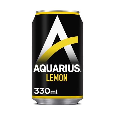 Aquarius Lemon blik tray 24x0,33L