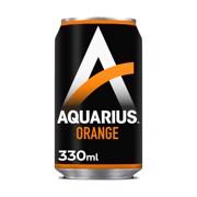 Aquarius Orange blik tray 24x0,33L