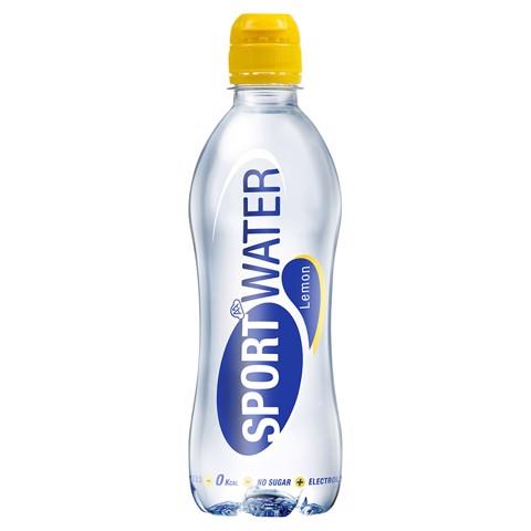 Sportwater Lemon PET tray 12x0,50L