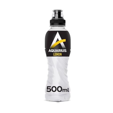 Aquarius Lemon PET tray 12x0,50L