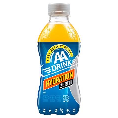 AA Drink Hydration Zero PET doos 24x0,33L