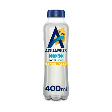 Aquarius Water + Essential Mineral Zinc & Lemon PET tray 12x0,40L