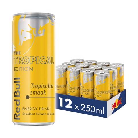 Red Bull Tropical Edition blik tray 12x0,25L