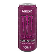 Monster Energy Punch Mixxd blik tray 12x0,50L