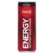 Coca-Cola Energy No Sugar blik tray 12x0,25L
