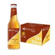 Red Bull Organics Ginger Ale doos 24x0,25L