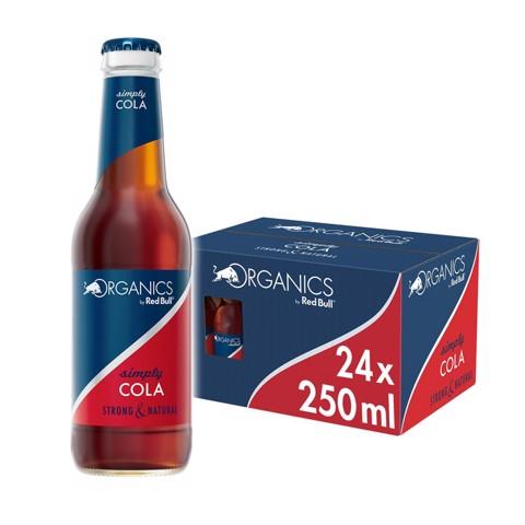 Red Bull Organics Simply Cola doos 24x0,25L
