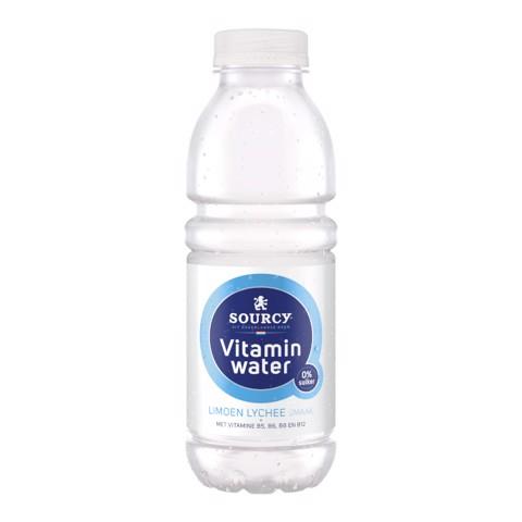 Sourcy Vitaminwater Limoen Lychee tray 6x0,50L