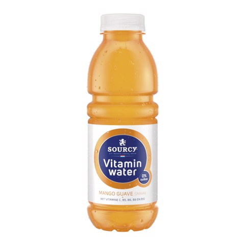 Sourcy Vitaminwater Mango Guave PET tray 6x0,50L