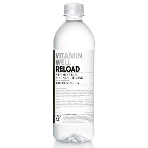 Vitamin Well Reload PET        tray 12x0,50L