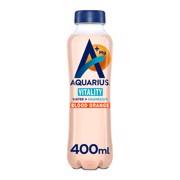 Aquarius Water+Essential Mineral Magnesium Blood Orange  PET tray 12x0,40L