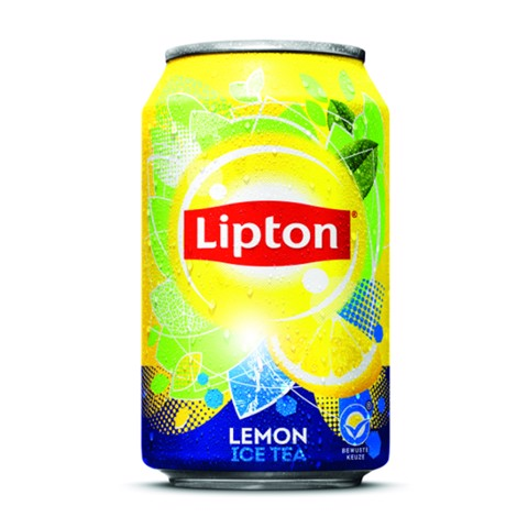 Lipton Ice Tea Lemon blik  tray 24x0,33L
