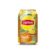Lipton Ice Tea Peach blik  tray 24x0,33L