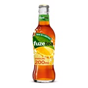 Fuze Tea Black Sparkling Lemon  krat 24x0,20L