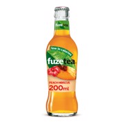 Fuze Tea Black Peach Hibiscus krat 24x0,20L