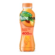 Fuze Tea Black Peach PET   tray 12x0,40L
