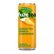 Fuze Tea Green Mango Kamille blik tray 24x0,25L