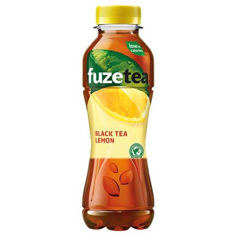 Fuze Tea Black Lemon PET   tray 12x0,40L
