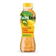 Fuze Tea Lemon Lemongrass PET tray 12x0,40L