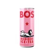 BOS Ice Tea Watermelon & Mint blik tray 12x0,25L