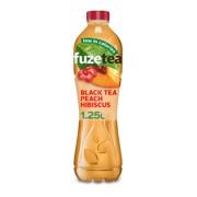 Fuze Tea Black Peach Hibiscus PET tray 6x1,25L