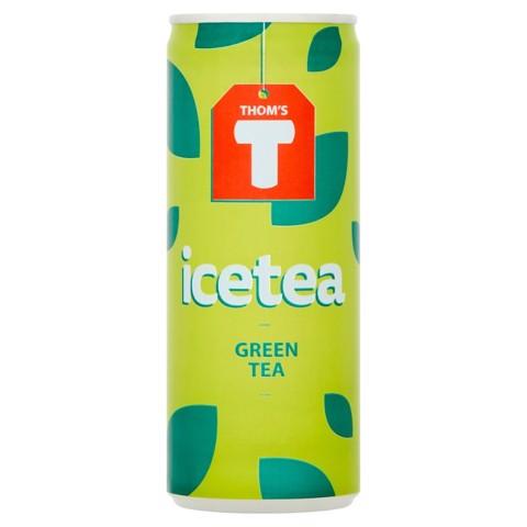 Thom's T Green Tea    blik tray 12x0,25L